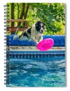 Super Dog 2 Spiral Notebook