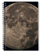 Super Moon 3628 August 2014 Spiral Notebook