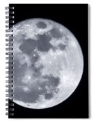 Super Moon Over Arizona  Spiral Notebook