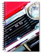 Super Sport 2 - Chevy Impala Classic Car Spiral Notebook