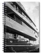 Super Yacht Spiral Notebook