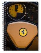 Supercar Dash Spiral Notebook