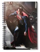 Superman Spiral Notebook