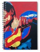 Superman - Red Sky Spiral Notebook
