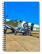 Supermarine Mk959 Spitfire Spiral Notebook