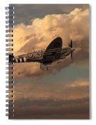 Supermarine Spitfire Mk Lfix  Spiral Notebook