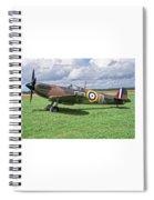 Supermarine Spitifire 1a Spiral Notebook