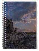 Supermoon At Mono Lake Spiral Notebook