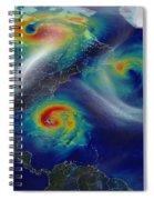 Superstorm Sandy Spiral Notebook