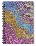 Superstring Aflowing Spiral Notebook
