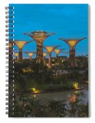 Supertrees Spiral Notebook
