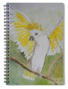 Suphar Crested Cockatoo Spiral Notebook
