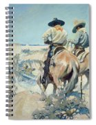 Supply Wagons Spiral Notebook