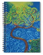 Supporting The Glow Spiral Notebook