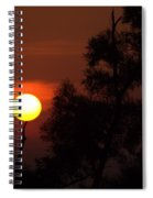 Supporting The Sun Spiral Notebook