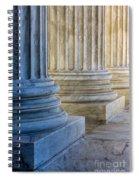 Supreme Court Colunms Spiral Notebook