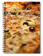 Supreme Meat Works Pizza  Sliced And Ready To Eat Spiral Notebook