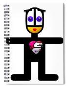 Surely Valentine Spiral Notebook