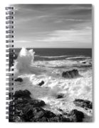 Surf At Cambria Spiral Notebook