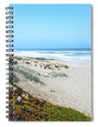 Surf Beach Lompoc California 2 Spiral Notebook