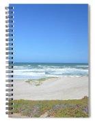 Surf Beach Lompoc California 3 Spiral Notebook