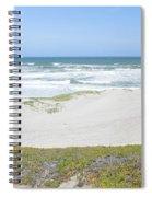 Surf Beach Lompoc California 4 Spiral Notebook