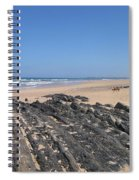 Surf Beach Portugal Spiral Notebook