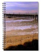 Surf City Pier Spiral Notebook