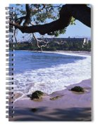 Surf On The Beach, Mauna Kea, Hawaii Spiral Notebook