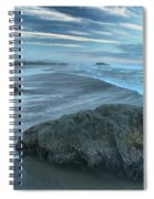 Surf Statues Spiral Notebook