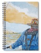 Surf Trout Fishing Spiral Notebook