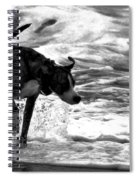 Surfer Bird Spiral Notebook