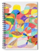 Abstract Dance Party  Spiral Notebook