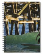 Surfer Dude 1 Spiral Notebook
