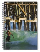 Surfer Dude 2 Spiral Notebook