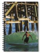 Surfer Dude 3 Spiral Notebook