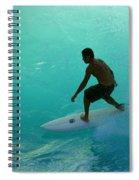 Surfer In The Zone Spiral Notebook