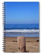 Surfers Waiting.... Spiral Notebook