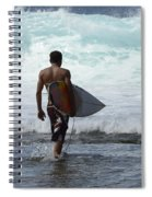 Surfing Brazil 3 Spiral Notebook