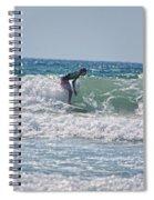 Surfing In California Spiral Notebook