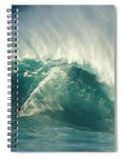 Surfing Jaws 2 Spiral Notebook