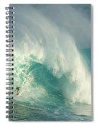 Surfing Jaws 3 Spiral Notebook