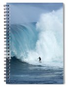Surfing Jaws 4 Spiral Notebook