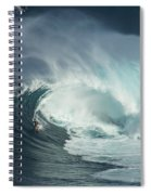 Surfing Jaws Fast And Furious Spiral Notebook