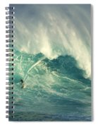 Surfing Jaws Hang Loose Brother Spiral Notebook