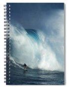 Surfing Jaws Surfing Giants Spiral Notebook