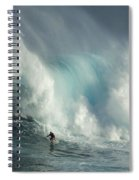 Surfing Jaws The Wild Side Spiral Notebook