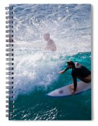 Surfing Maui Spiral Notebook