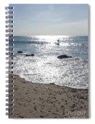 Surfing Mercury Spiral Notebook
