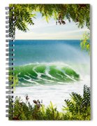 Surfing Paradise Spiral Notebook